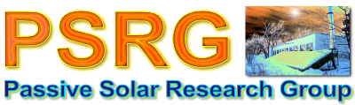 Passive Solar Research Group Logo